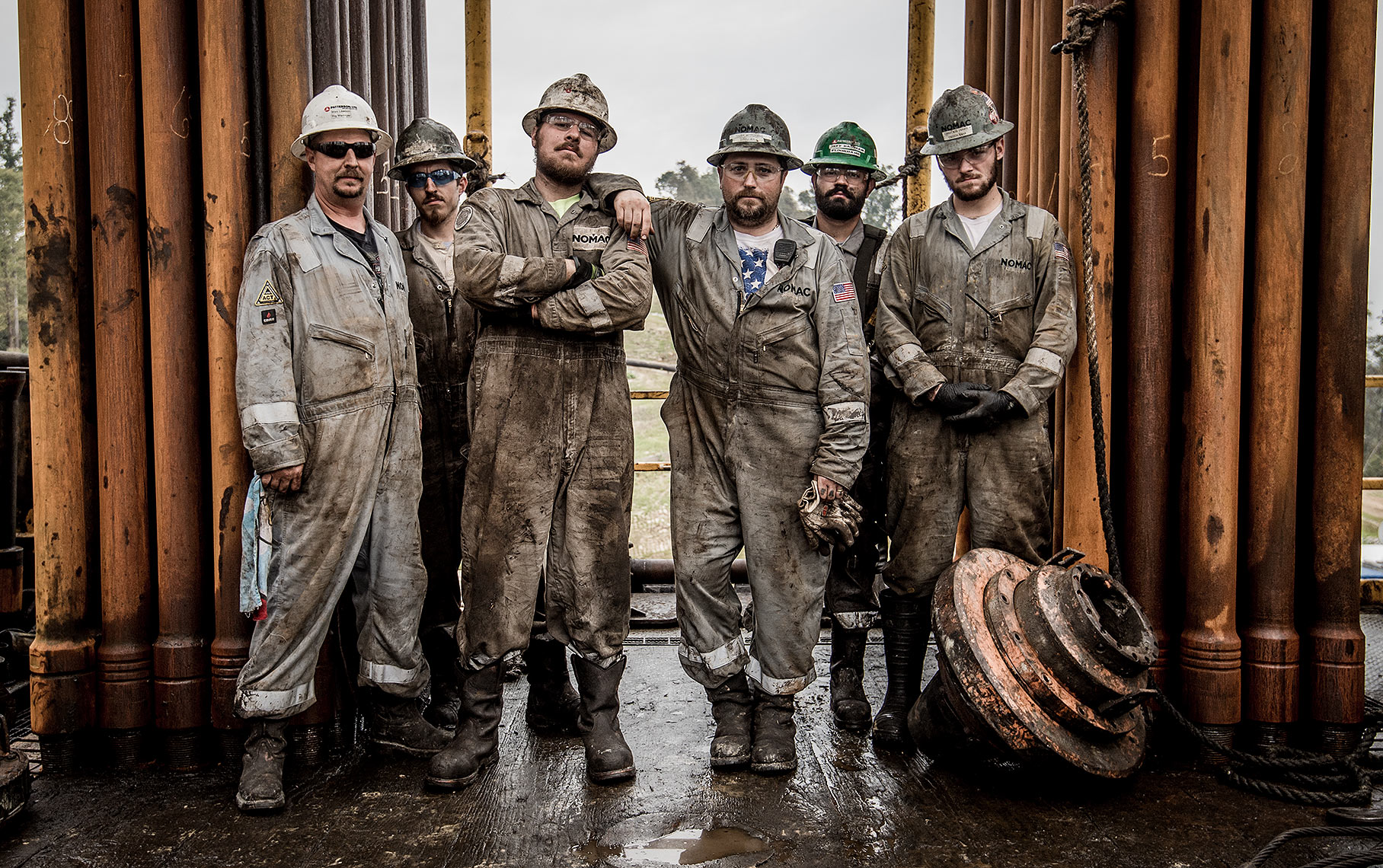 OIl Rig Workers Photo