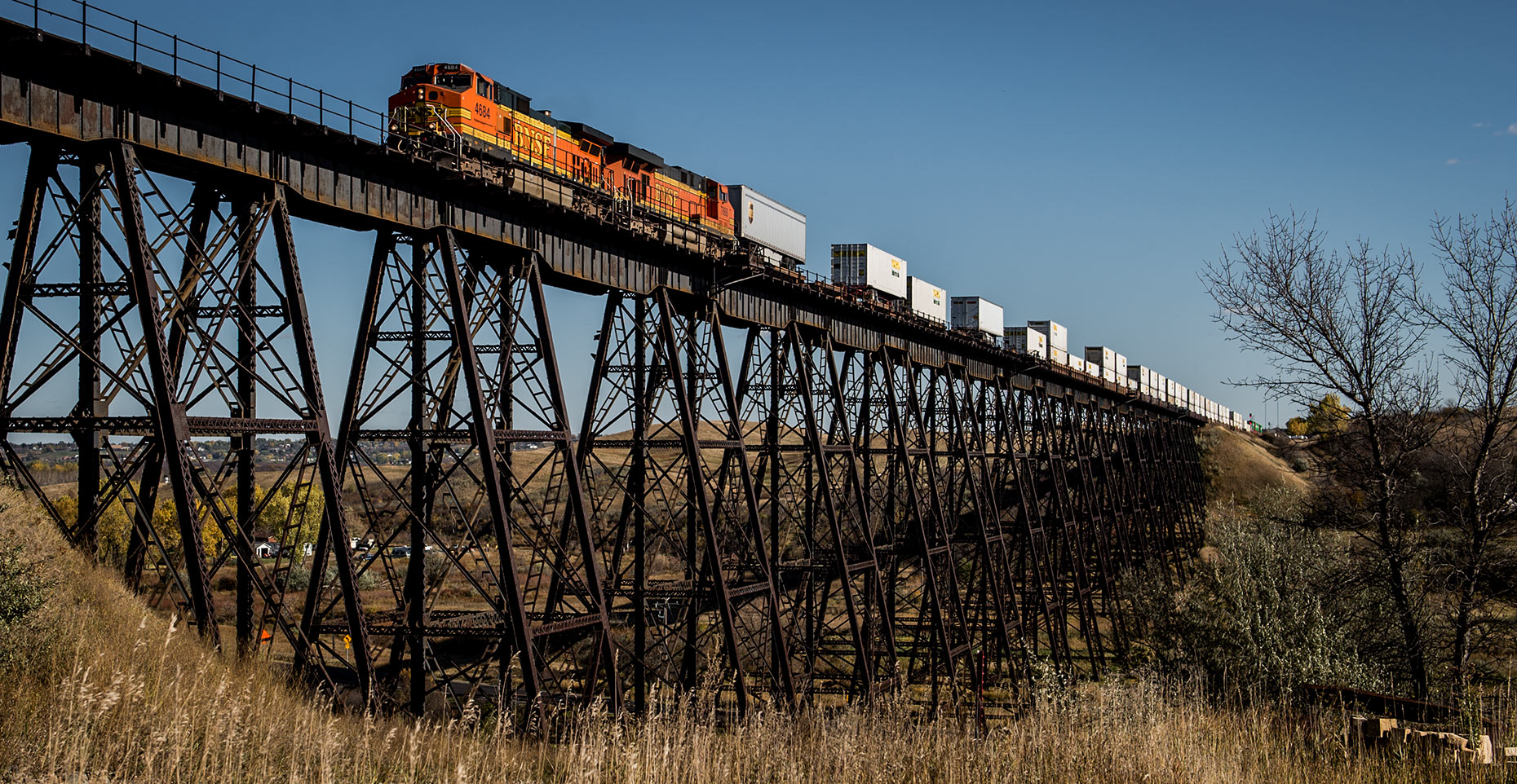 Railroad Bridge Photography