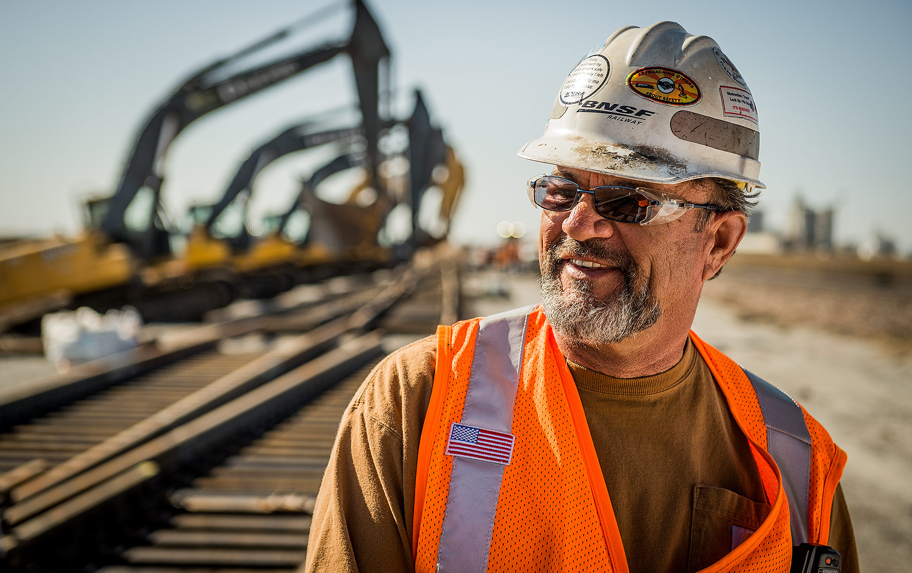 Railroad Worker Portrait