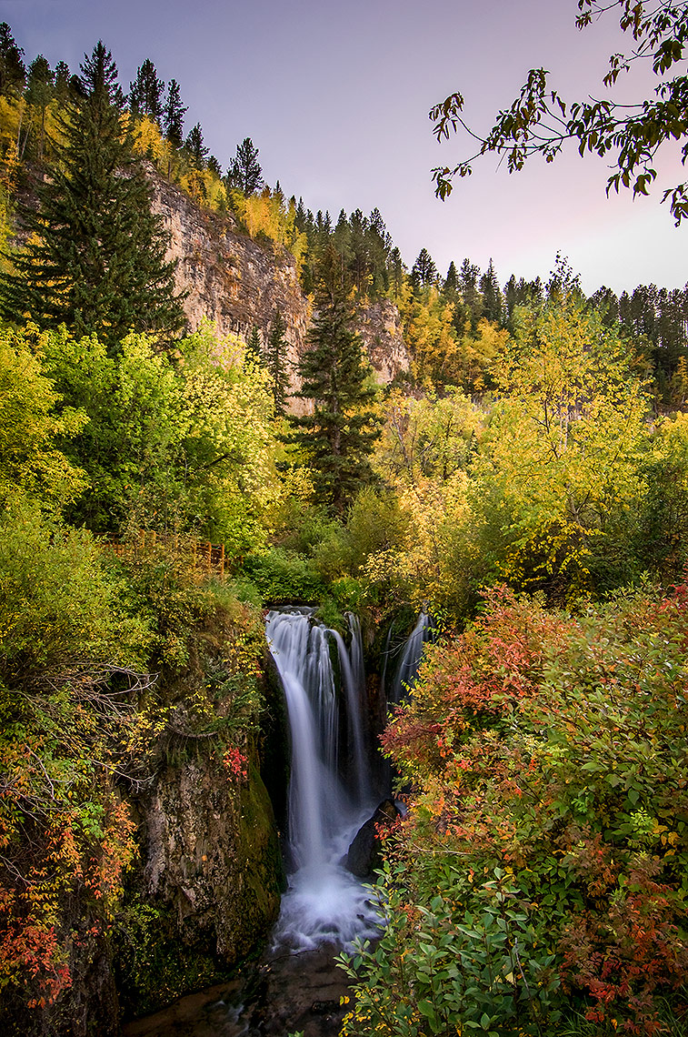 Roughlock Falls in the Black Hills