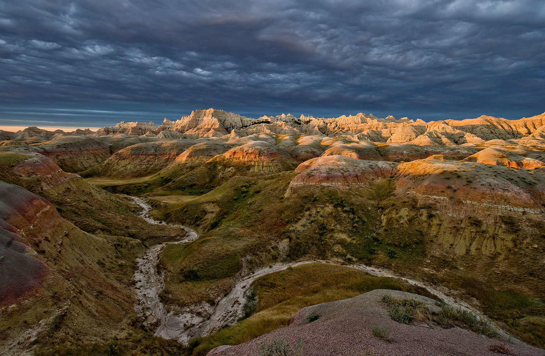Badlands Formations Photo