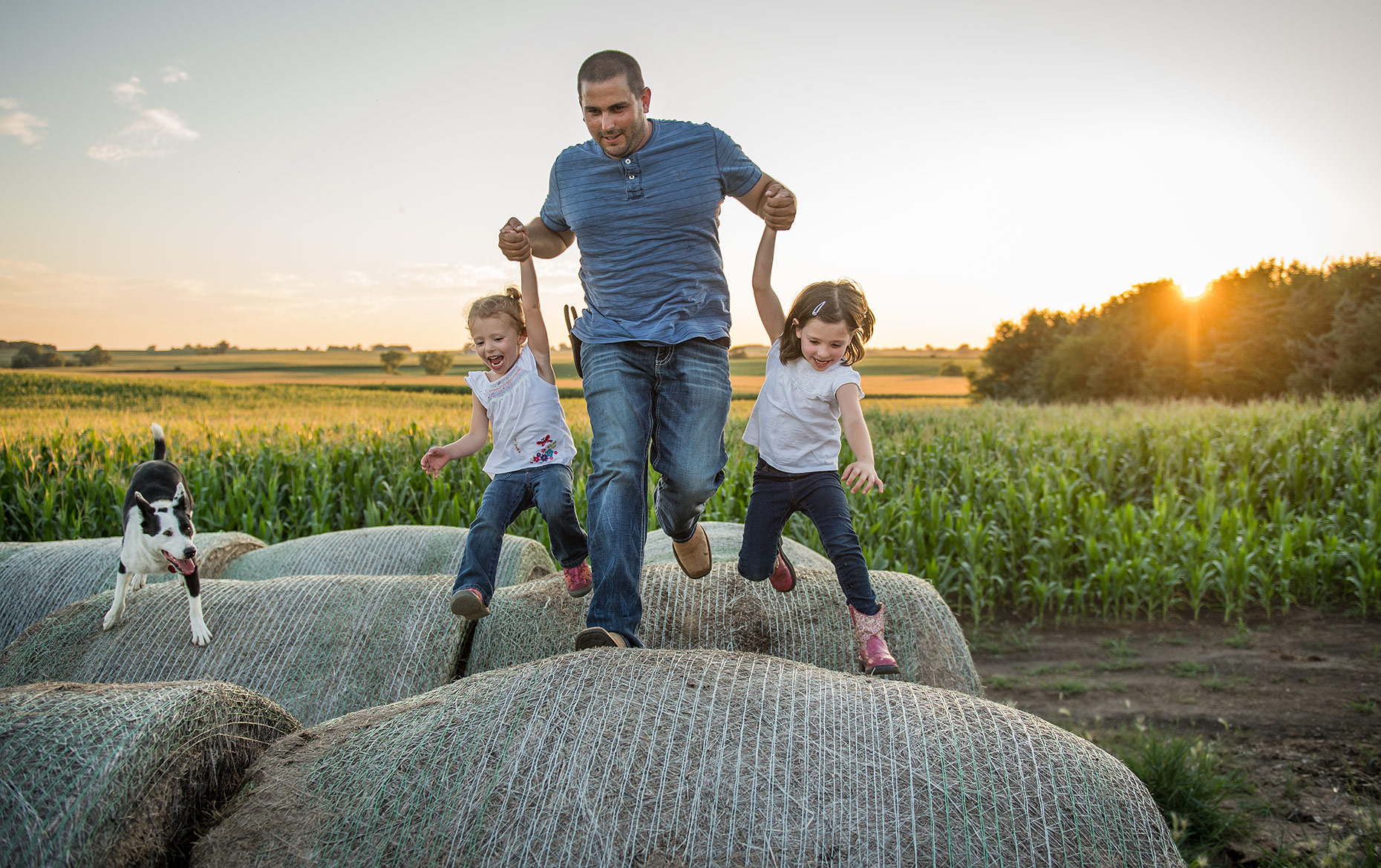 Farmer and Daughters