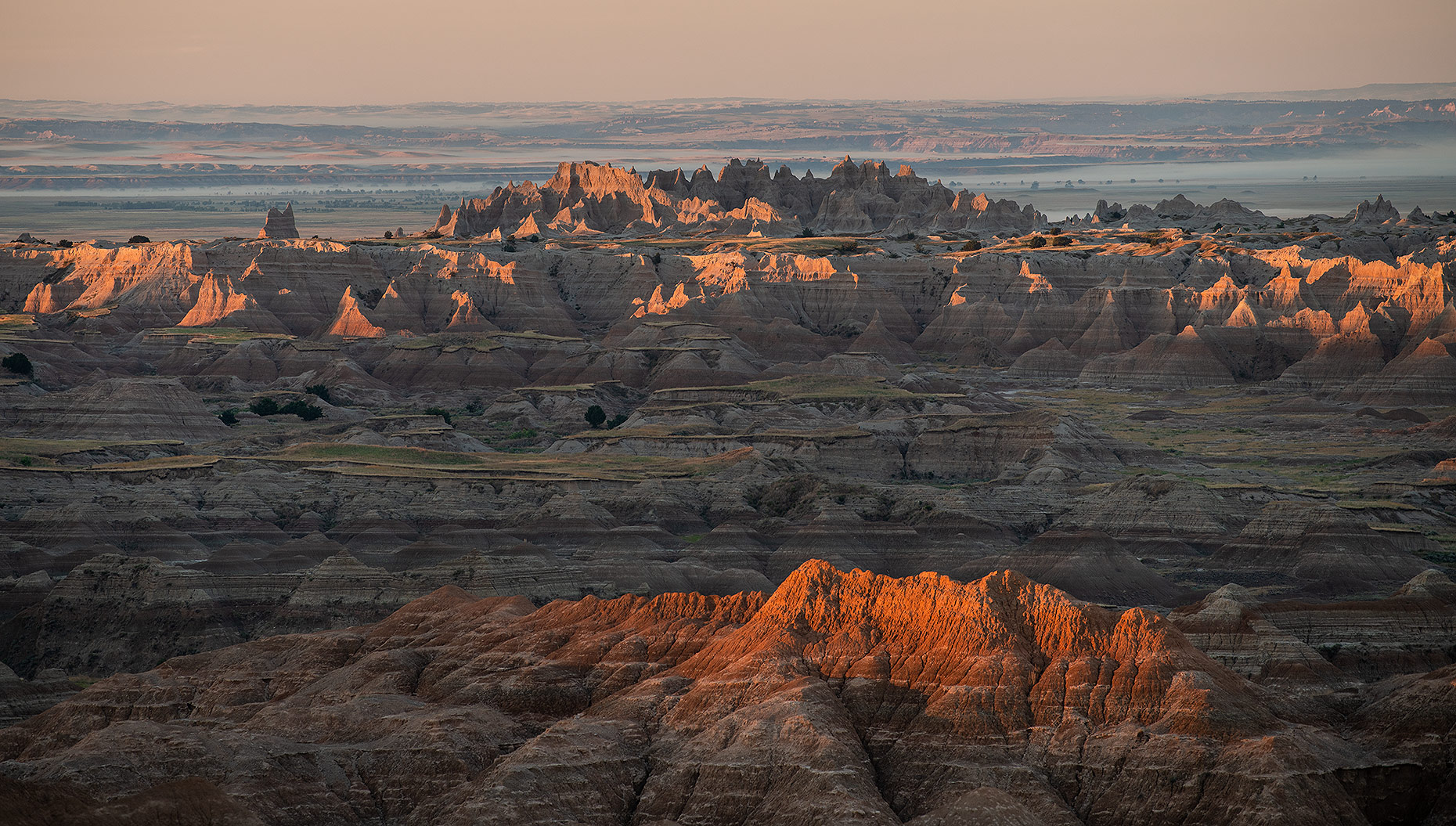 Badlands Photograph