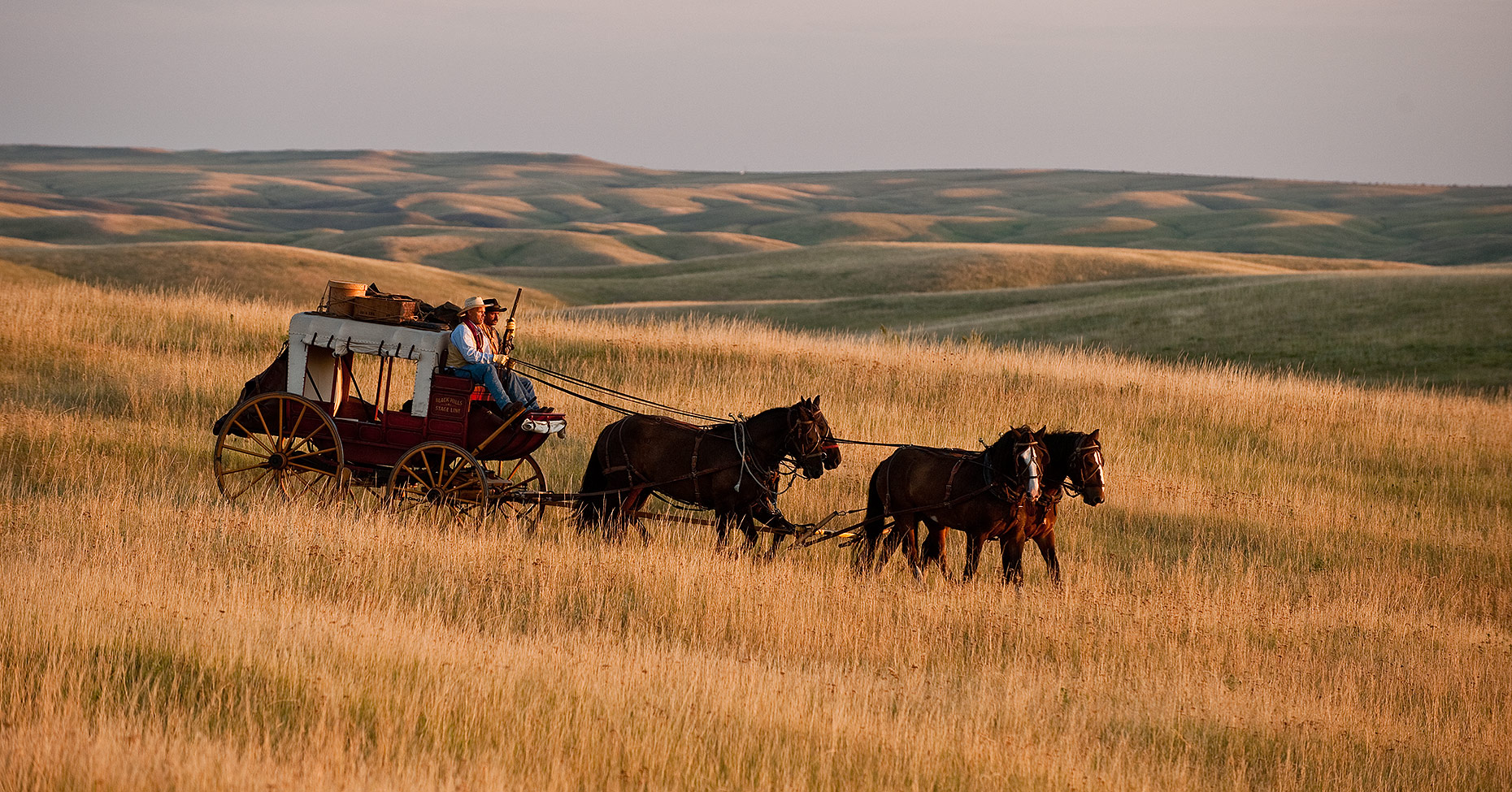 Stagecoach on the Prairie