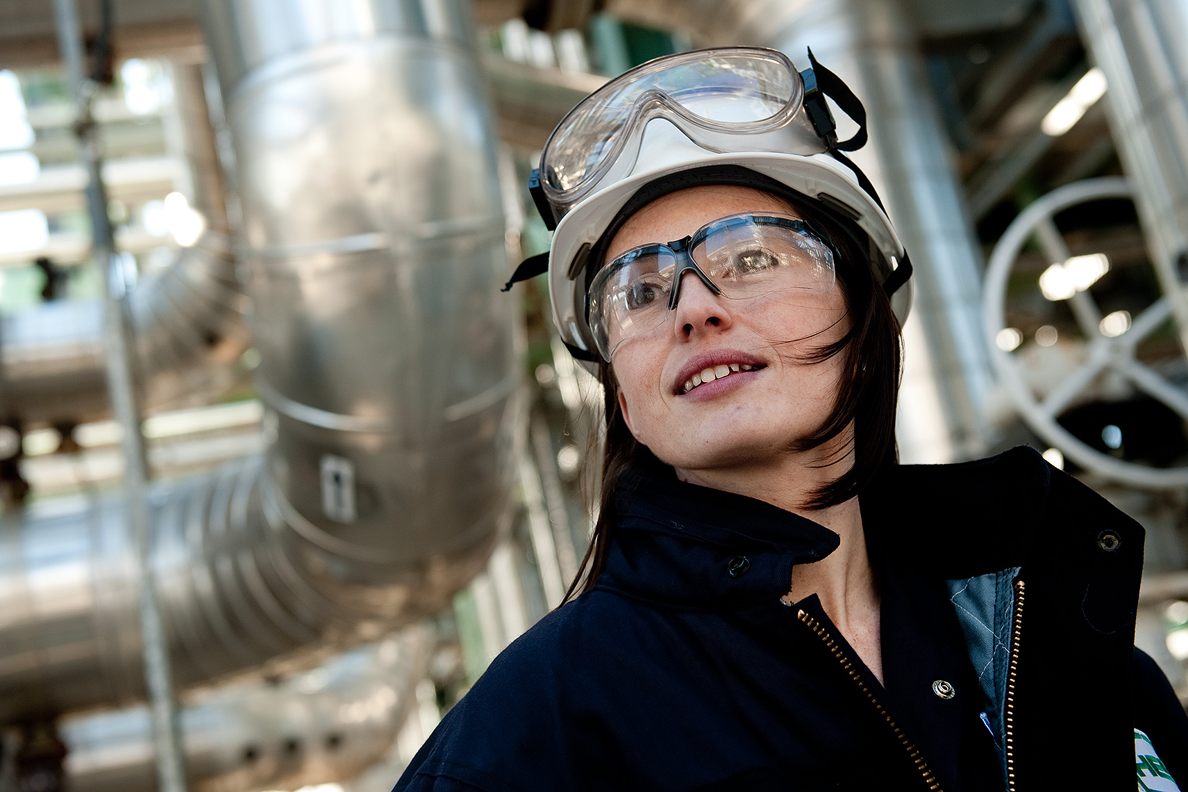 Oil Refinery Engineer Portrait