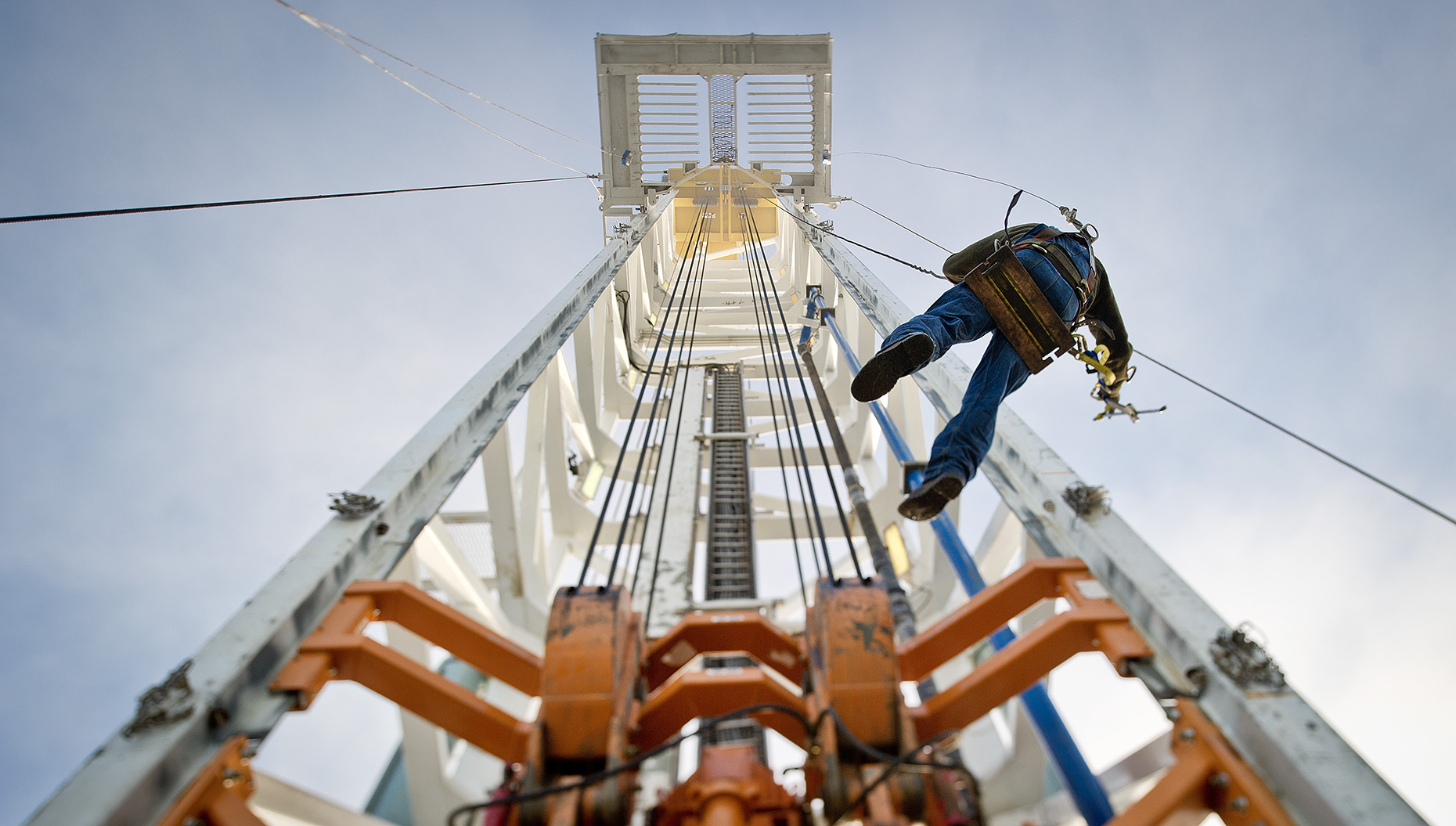 Oil Rig Worker Photograph