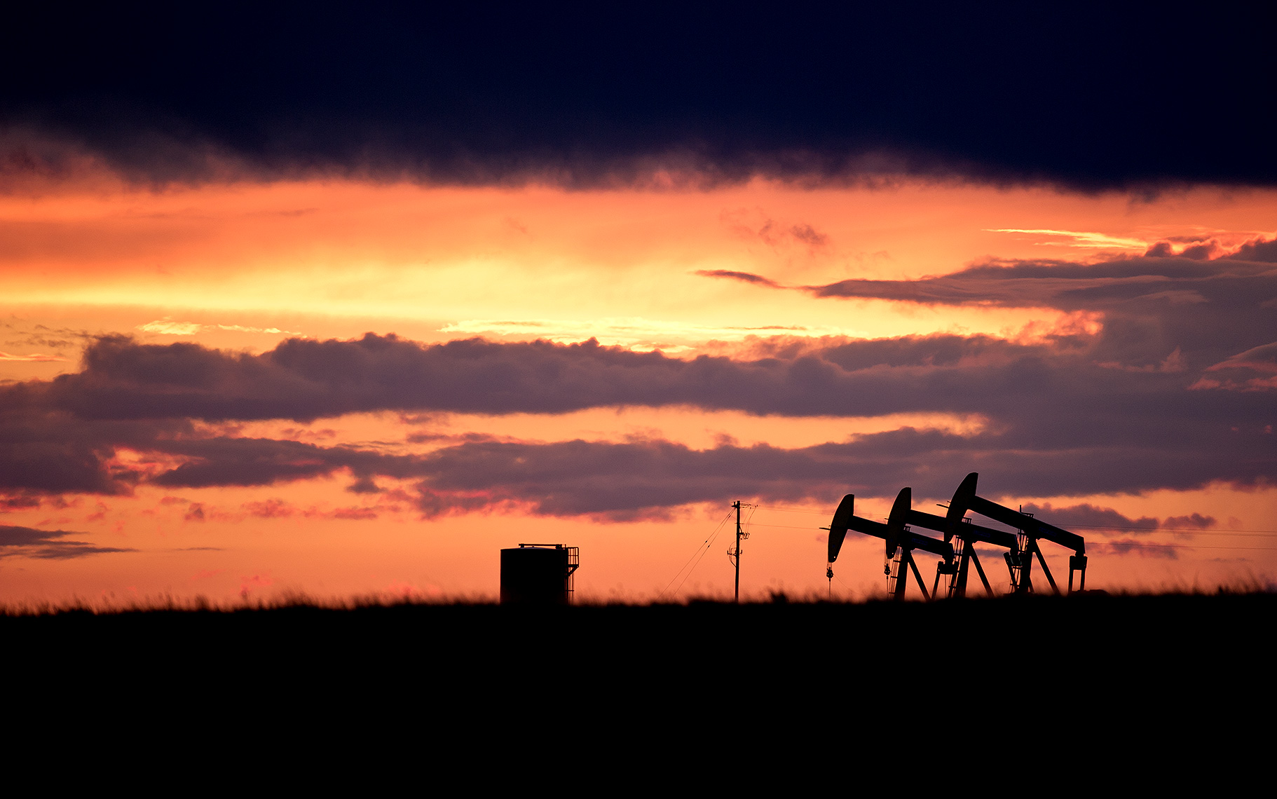 Oil Pumps on the Great Plains