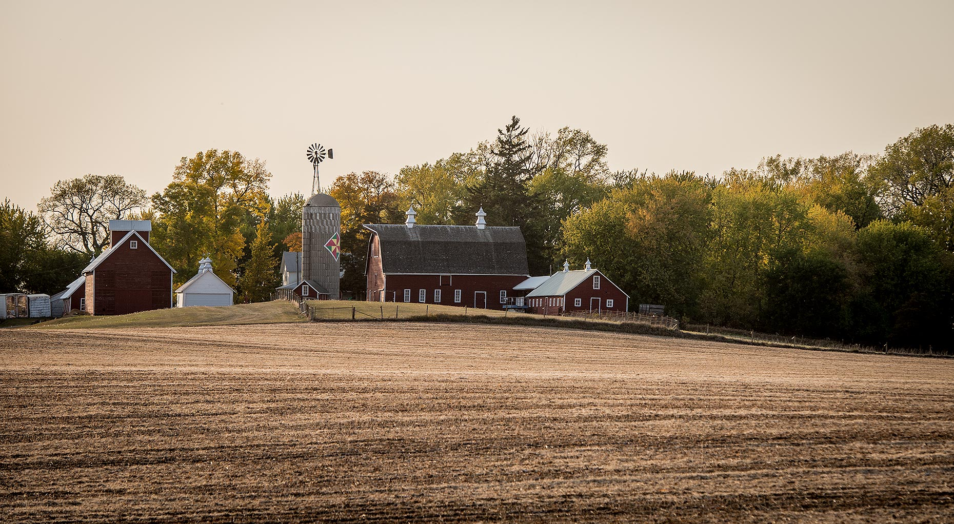 Farmstead in Midwest Photograph