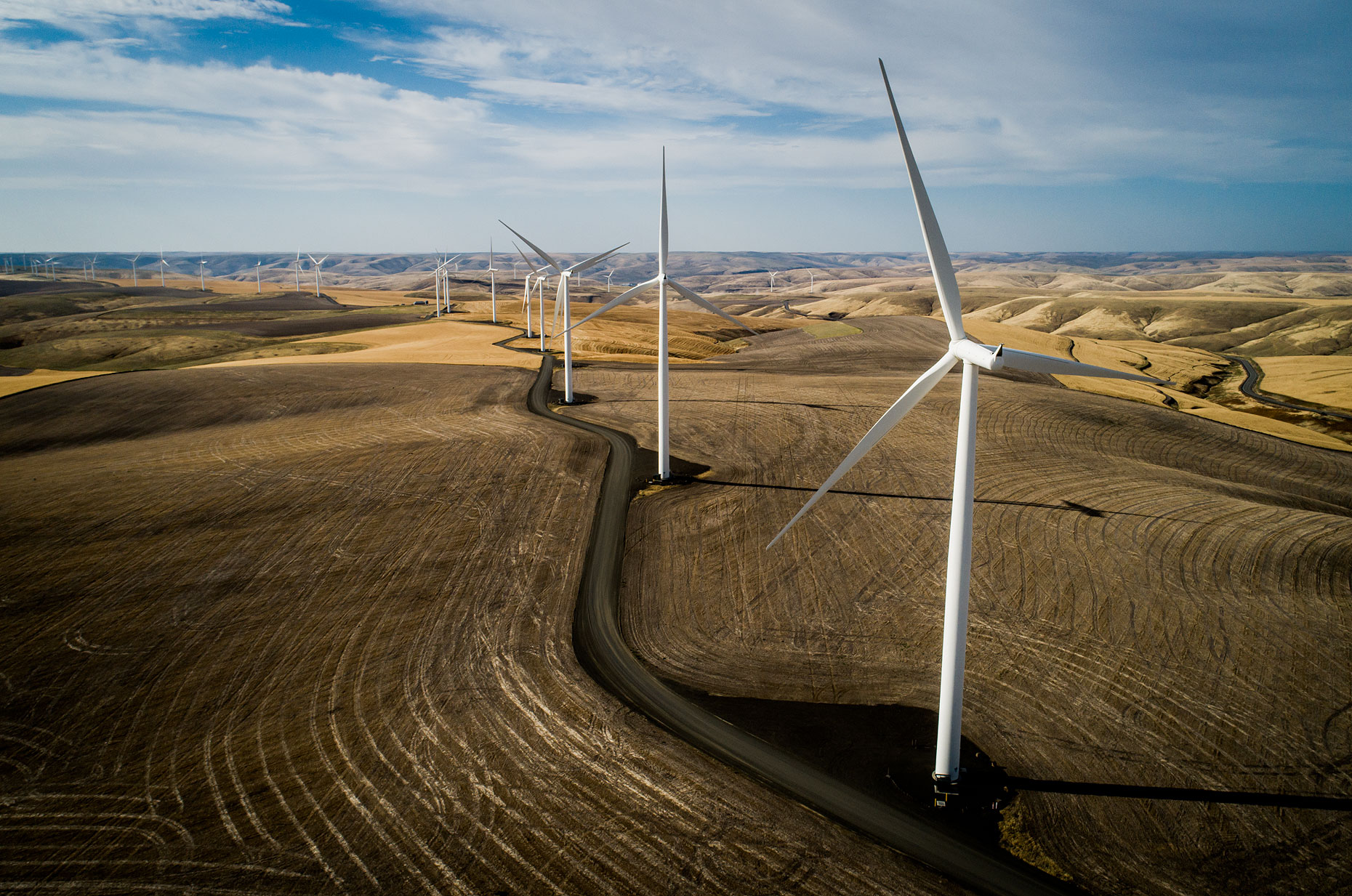 Wind Turbine Photography