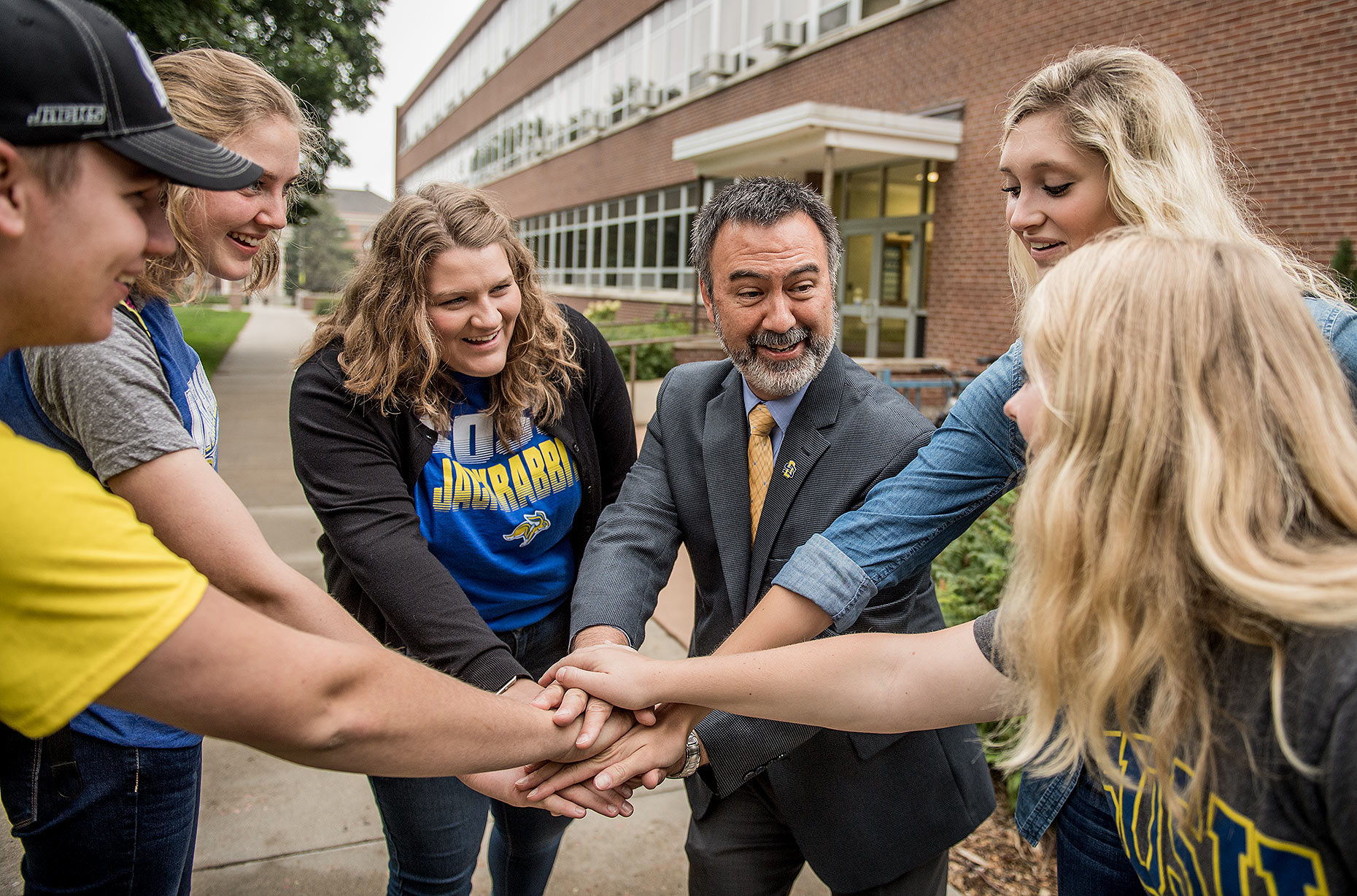 Huddle with College Dean