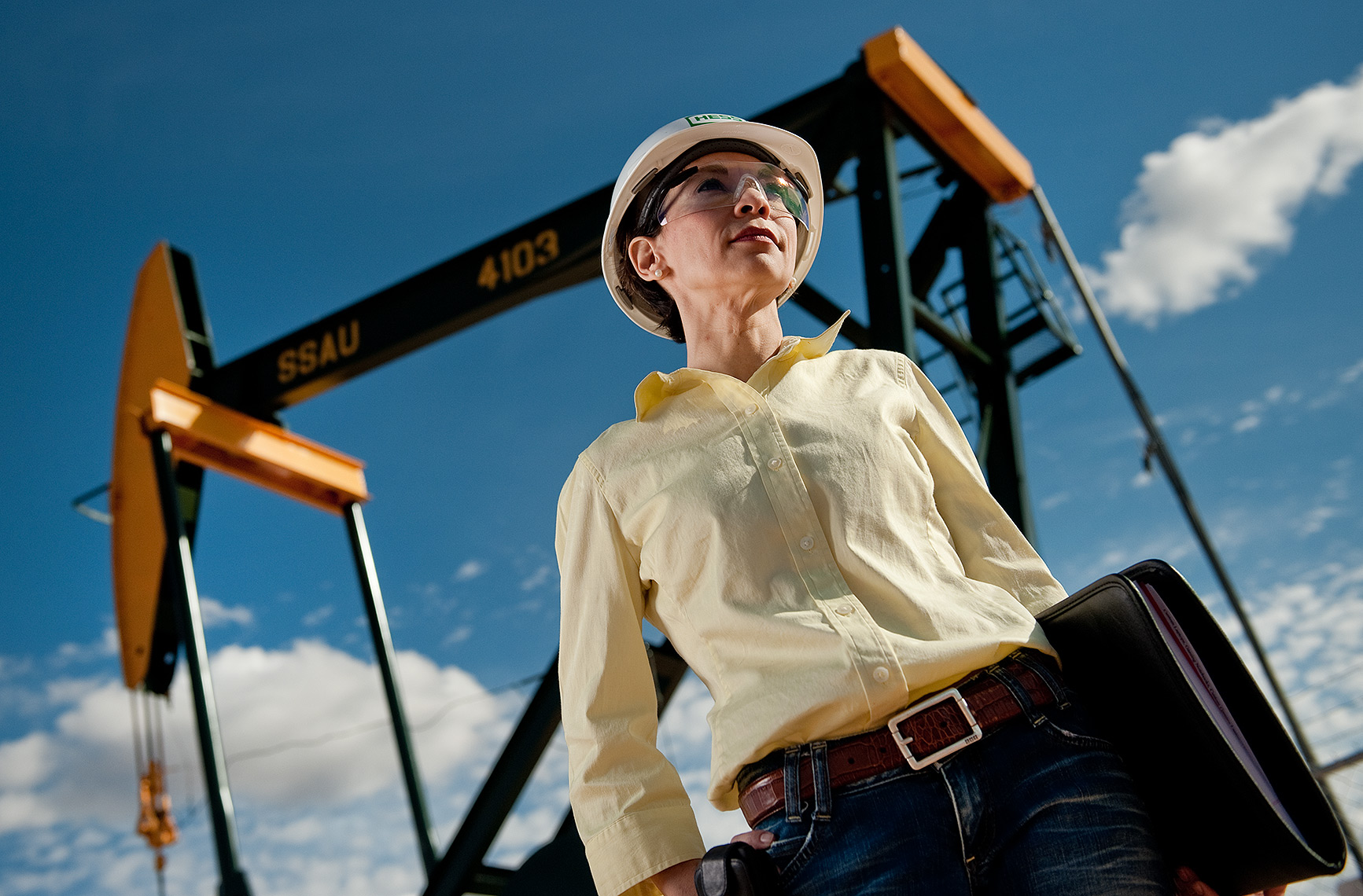 Oilfield Engineer Portrait