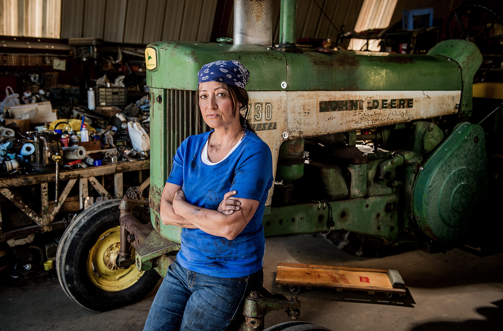 Woman Mechanic Photograph